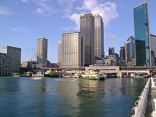 Circular Quay Ferry Boats