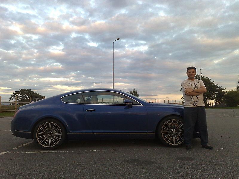 Bentley and me 1