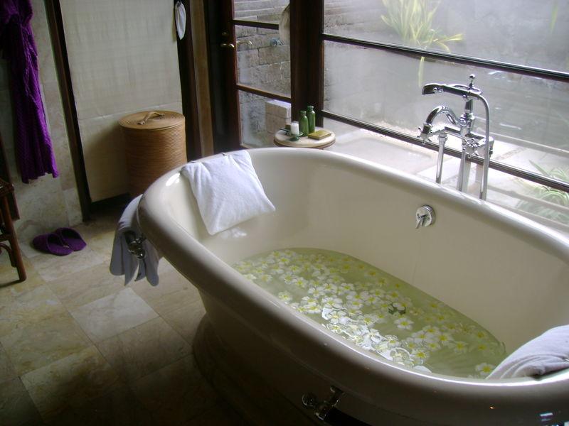 Water in bath