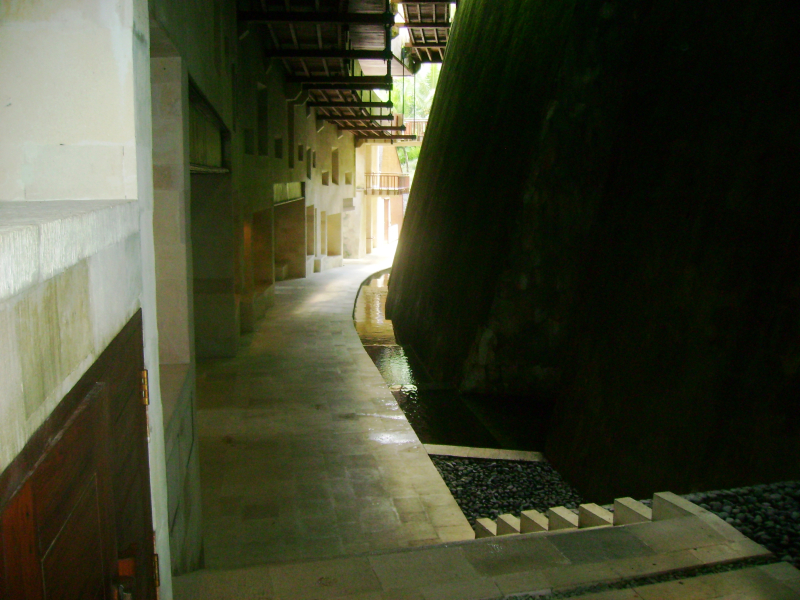 Corridor outside room