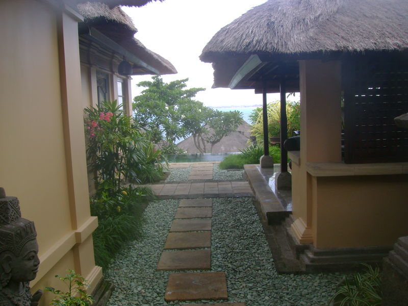 Path inside villa