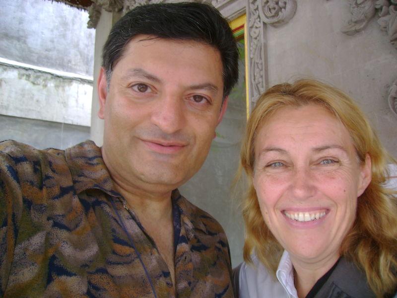 With Carol Bujeau