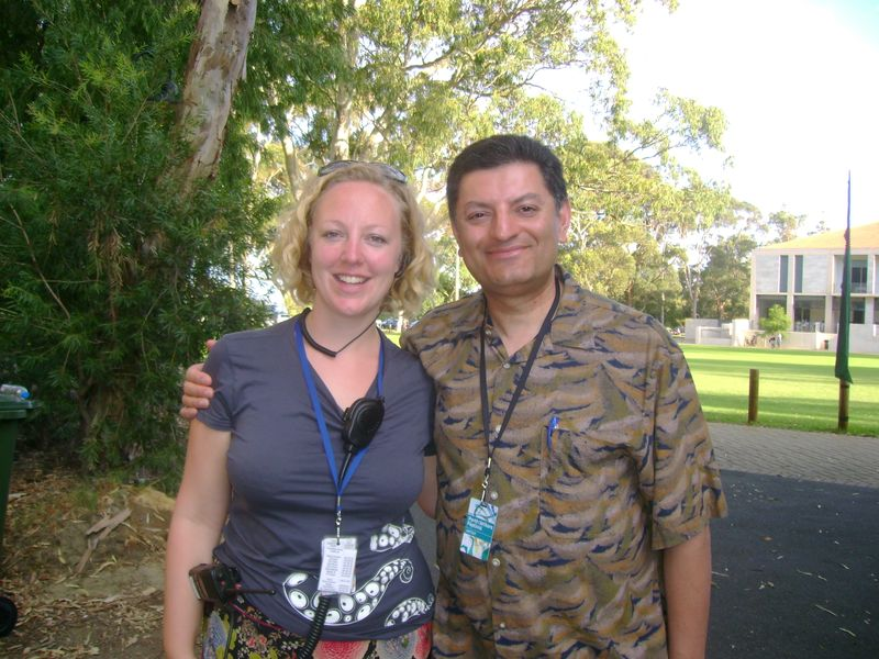 Imran and Katherine Dorrington