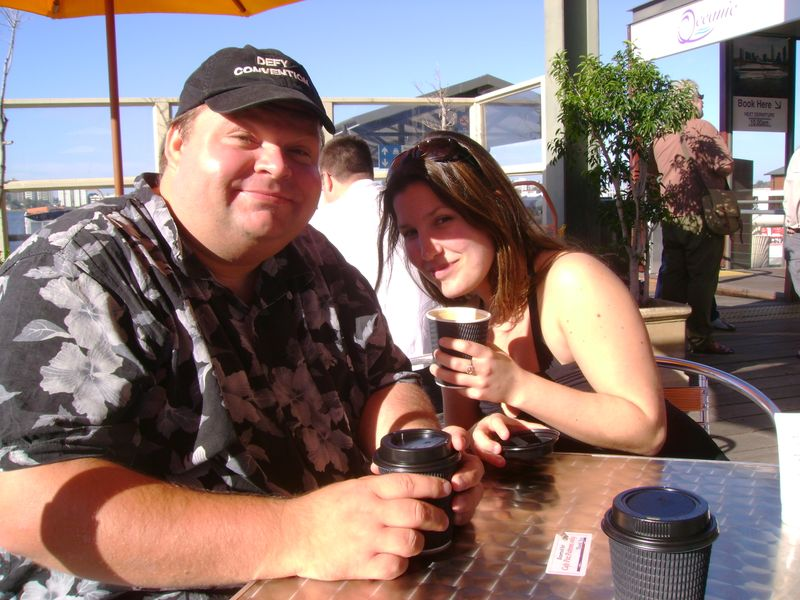 Mike Daisey and Sarah Austin Jenness