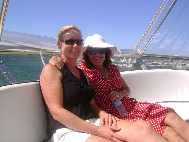 Anne Fogarty and Becky Vidler
