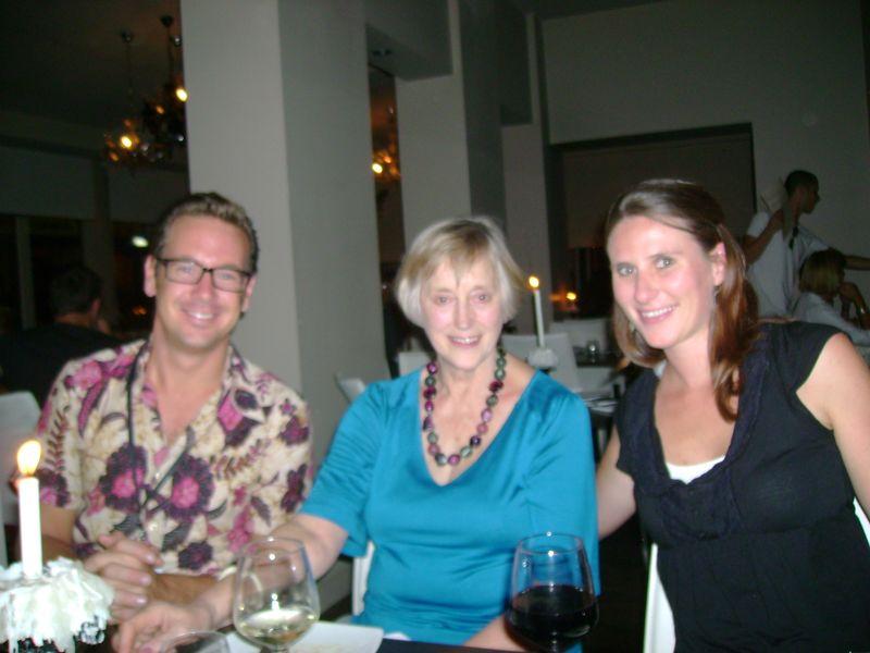 Benjamin Gilmour, Stella Rimington and Kate Mayor