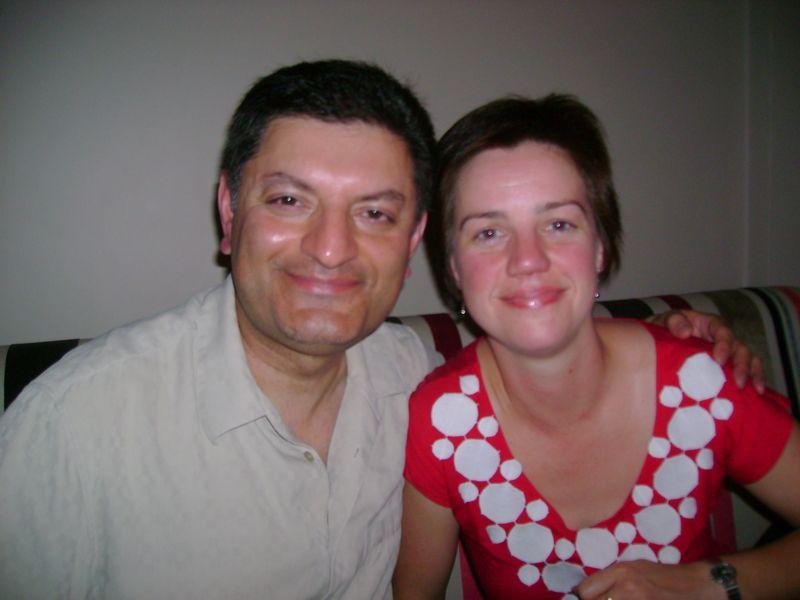 Imran and Mary-Jayne