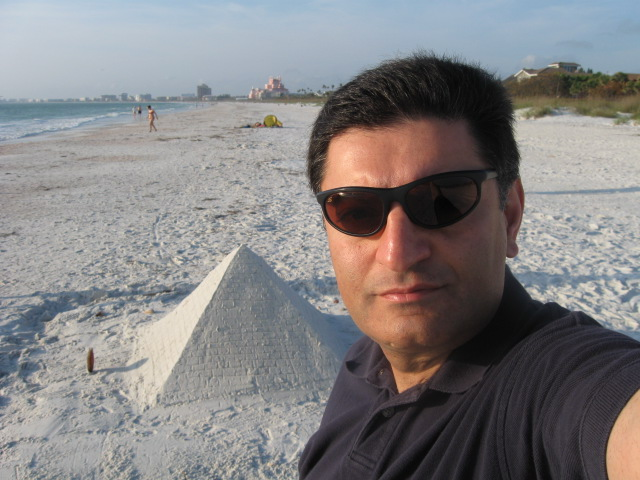 On St Pete beach