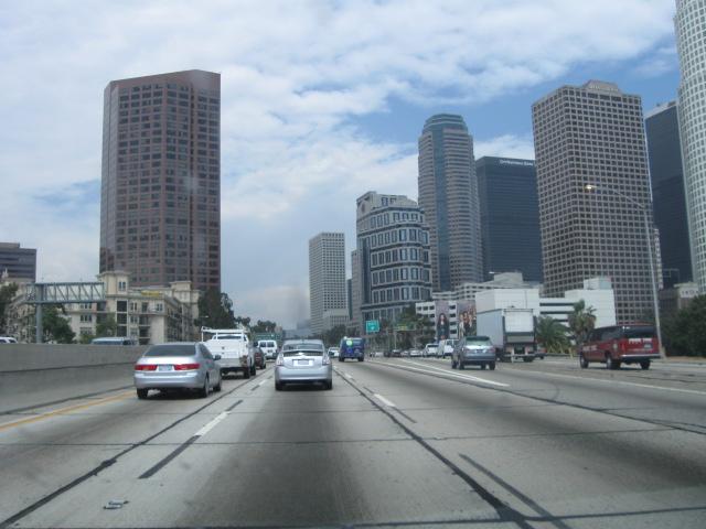 Arriving in LA