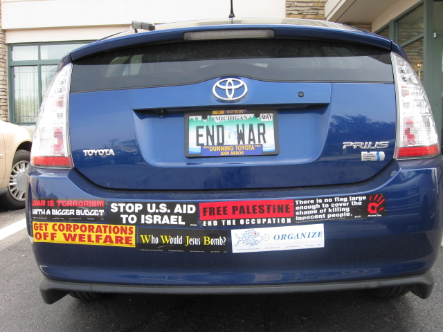 Anti-war car