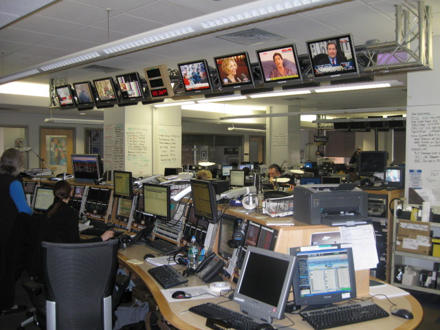 BBC Washington studio