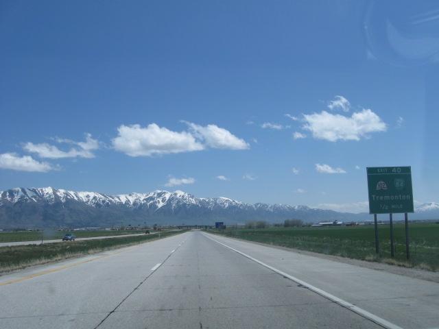 Entering Tremonton - Utah