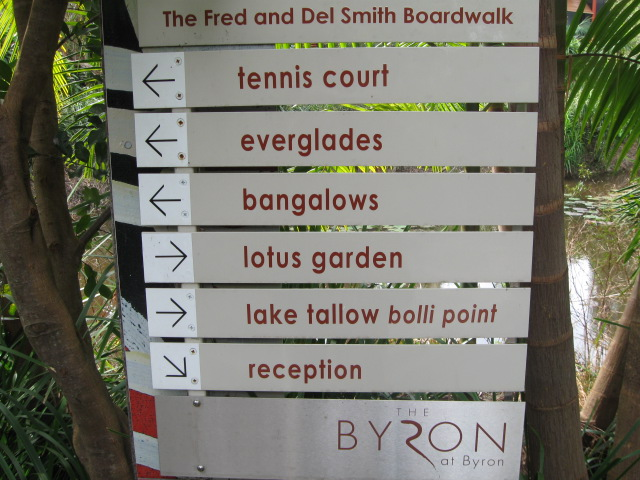Directions board