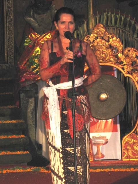 Janet De Neefe at Gala Opening