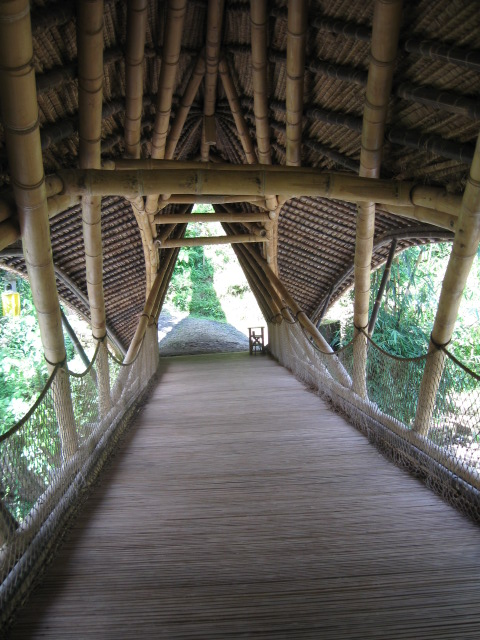 Interior of bridge