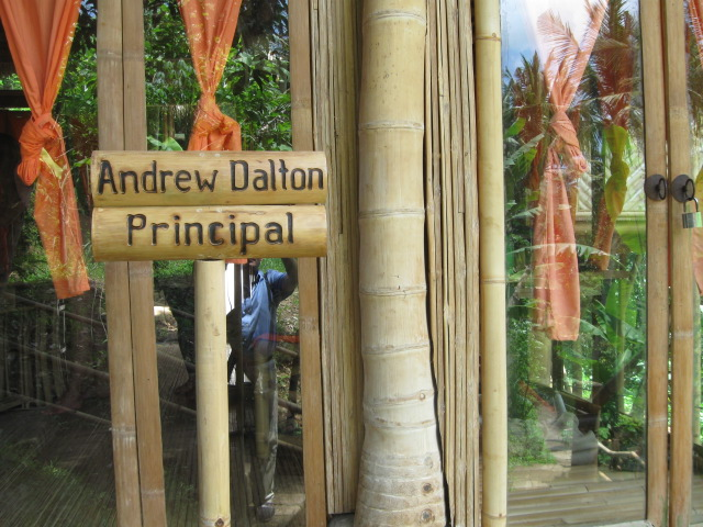 Principals office sign
