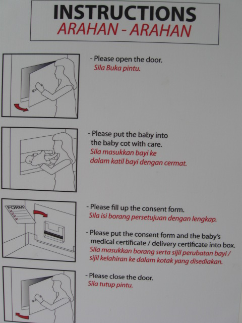 Babyhatch Instructions