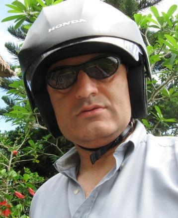 Imran in helmet